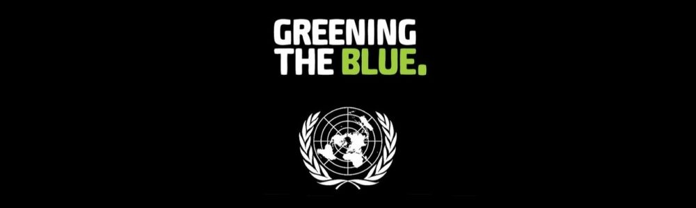 Greening the blue banner 2