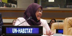 Ms. Maimunah Mohd Sharif, Executive Director of UN-Habitat